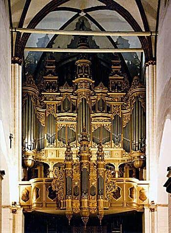 1883 Walcker organ at Riga Cathedral, Latvia