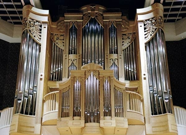 2004 Jaeckel organ at Brevard Music Center in Brevard, NC