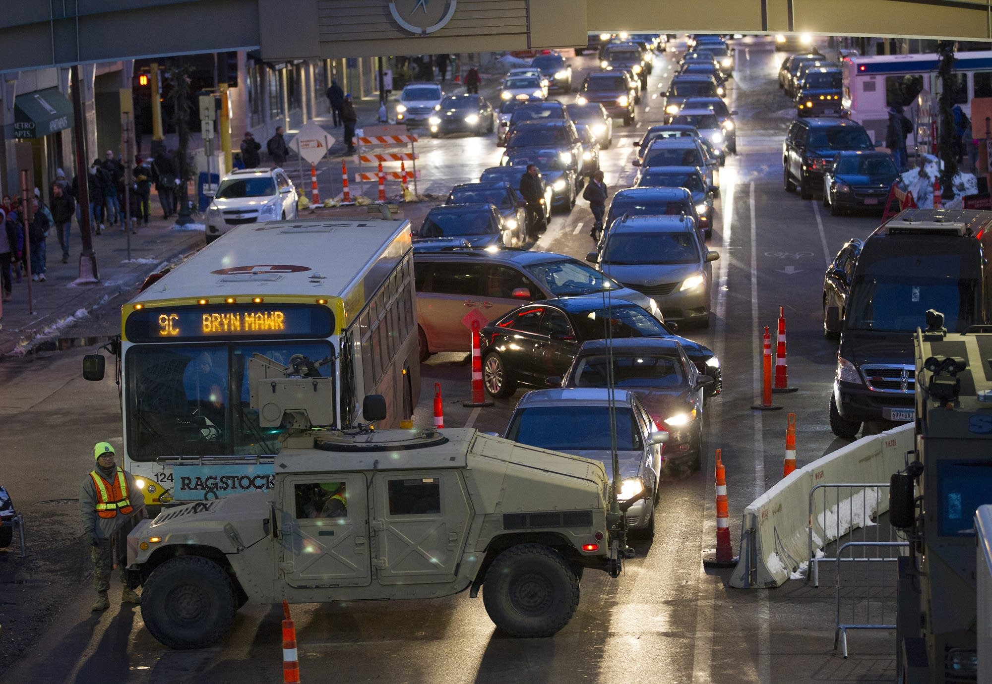 Traffic headaches have just begun for commuters during the evening hours.