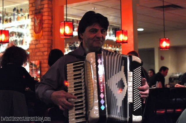 Val the accordionist
