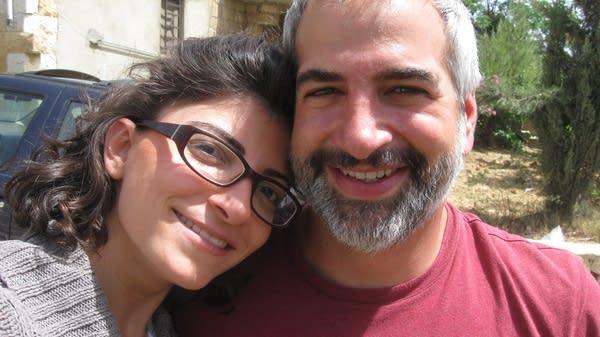 Nada Bakri and Anthony Shadid