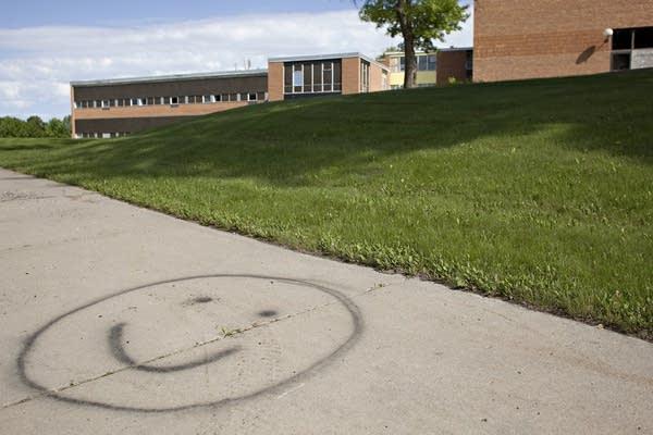 Morris school vandalism