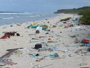 Plastic is piling up on Henderson Island