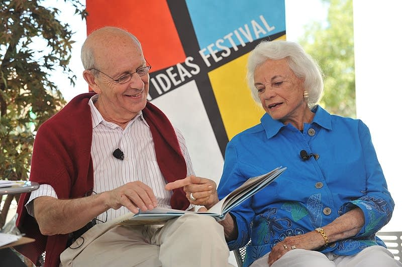 Sandra Day O'Connor and Stephen Breyer