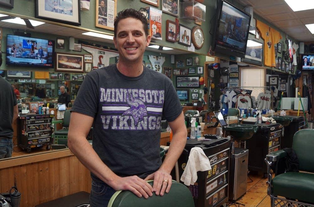 Spencer Kramer at Dick's Sports Barber