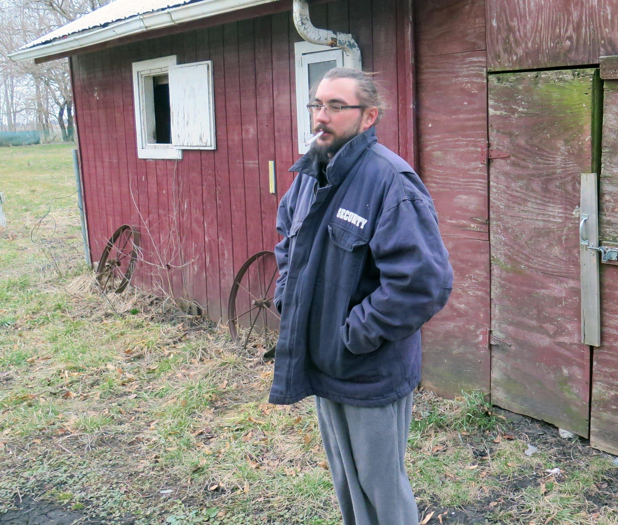 Clarence, Ill., resident Jon O'Neill.