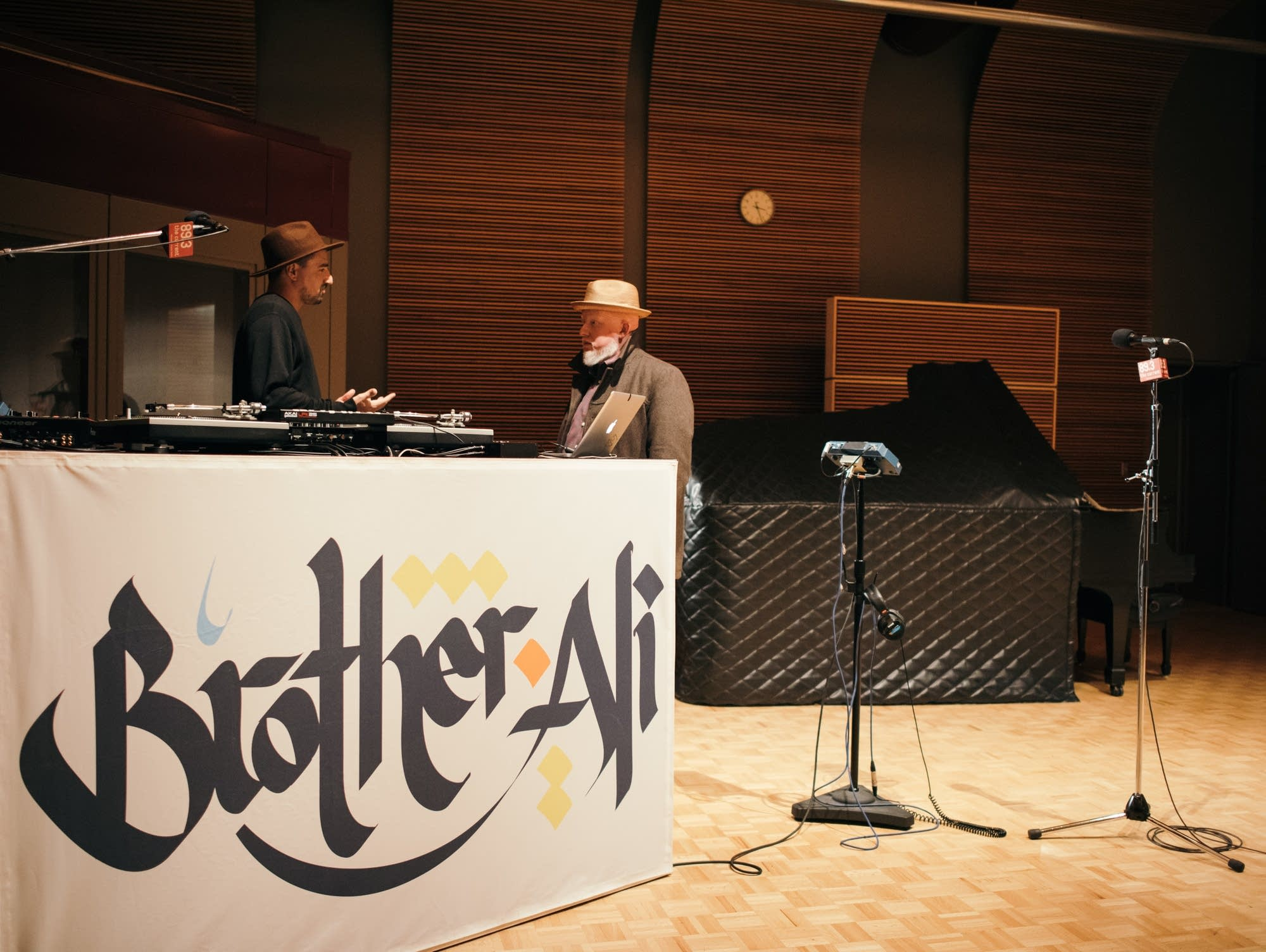 Brother Ali performs in The Current's studios