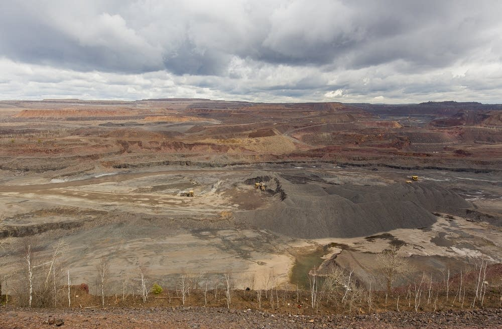 The Hull-Rust-Mahoning open pit mine in Hibbing