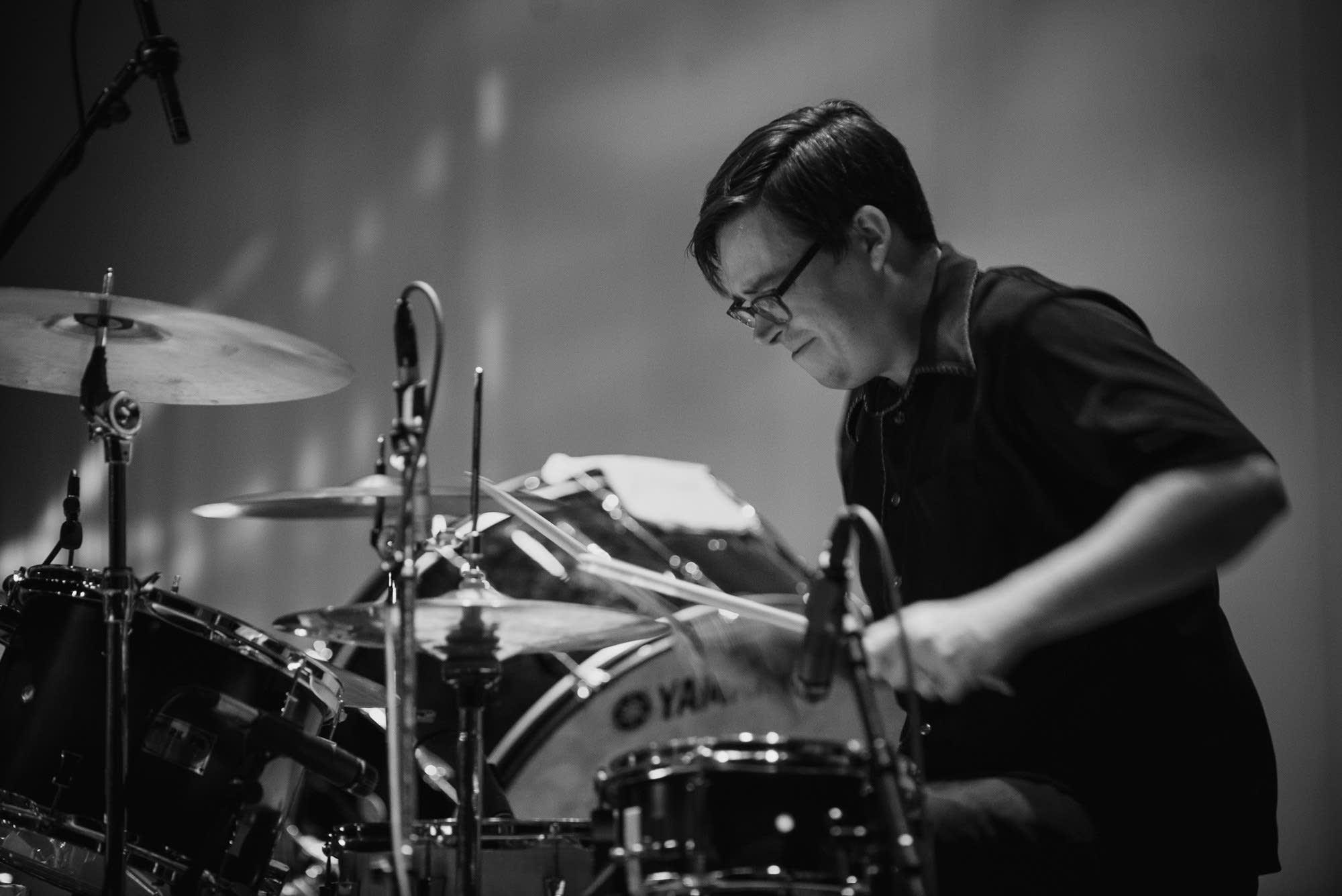 Dessa's drummer