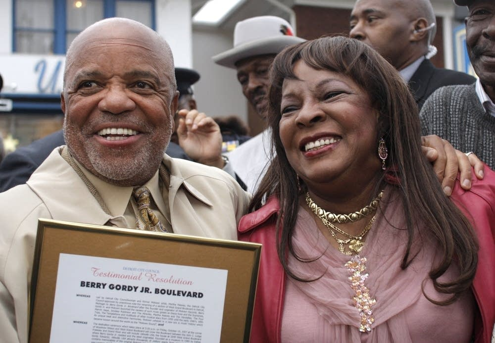 Street named after Motown legend