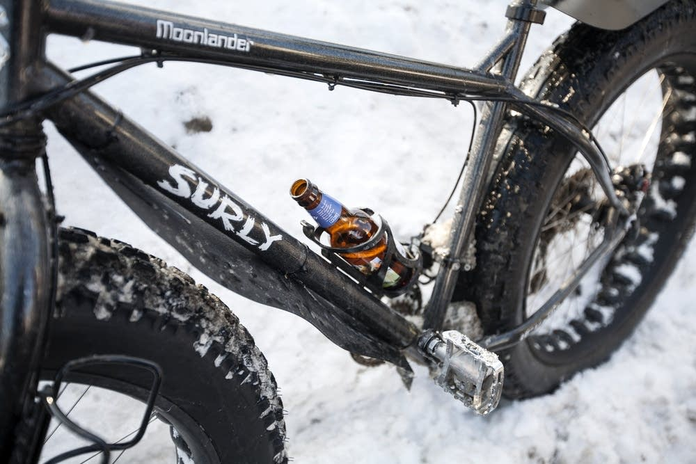 Beer is part of the race