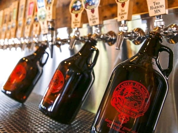 Castle Danger Brewery will stop selling 64-fluid-oz and 750-ml growlers.