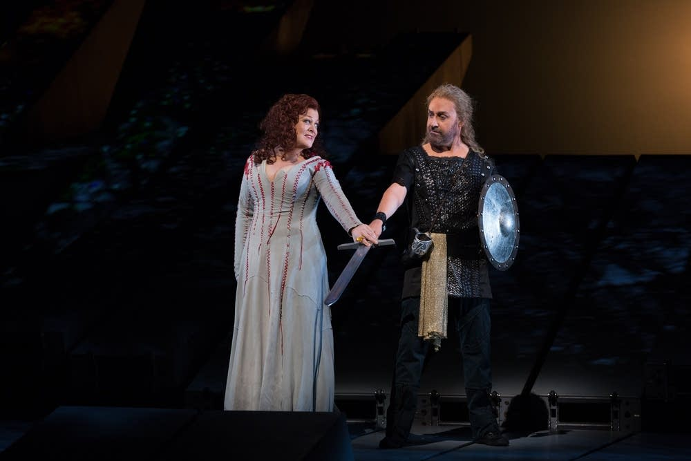 Deborah Voigt and Lars Cleveman