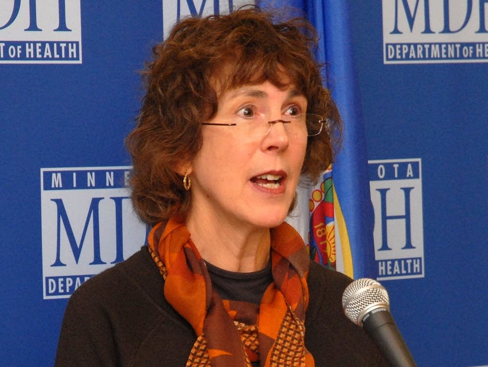 Health Commissioner Sanne Magnan
