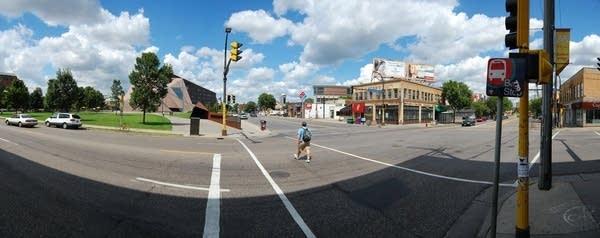 Stadium village at the University of Minnesota