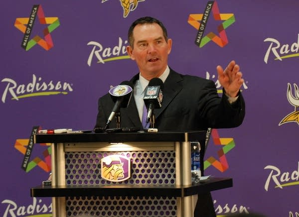 Mike Zimmer, new head Vikings coach