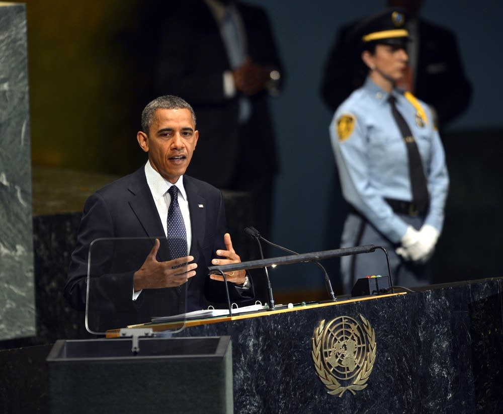 President Barack Obama at the UN
