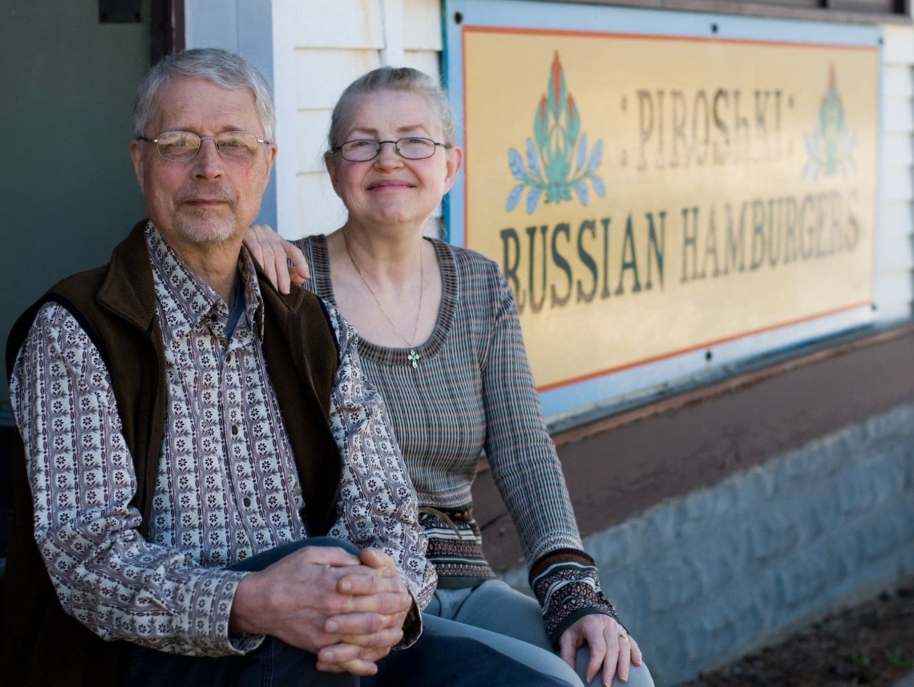 Nikolai and Linda Alenov, the owners of the Russian Tea House in St. Paul