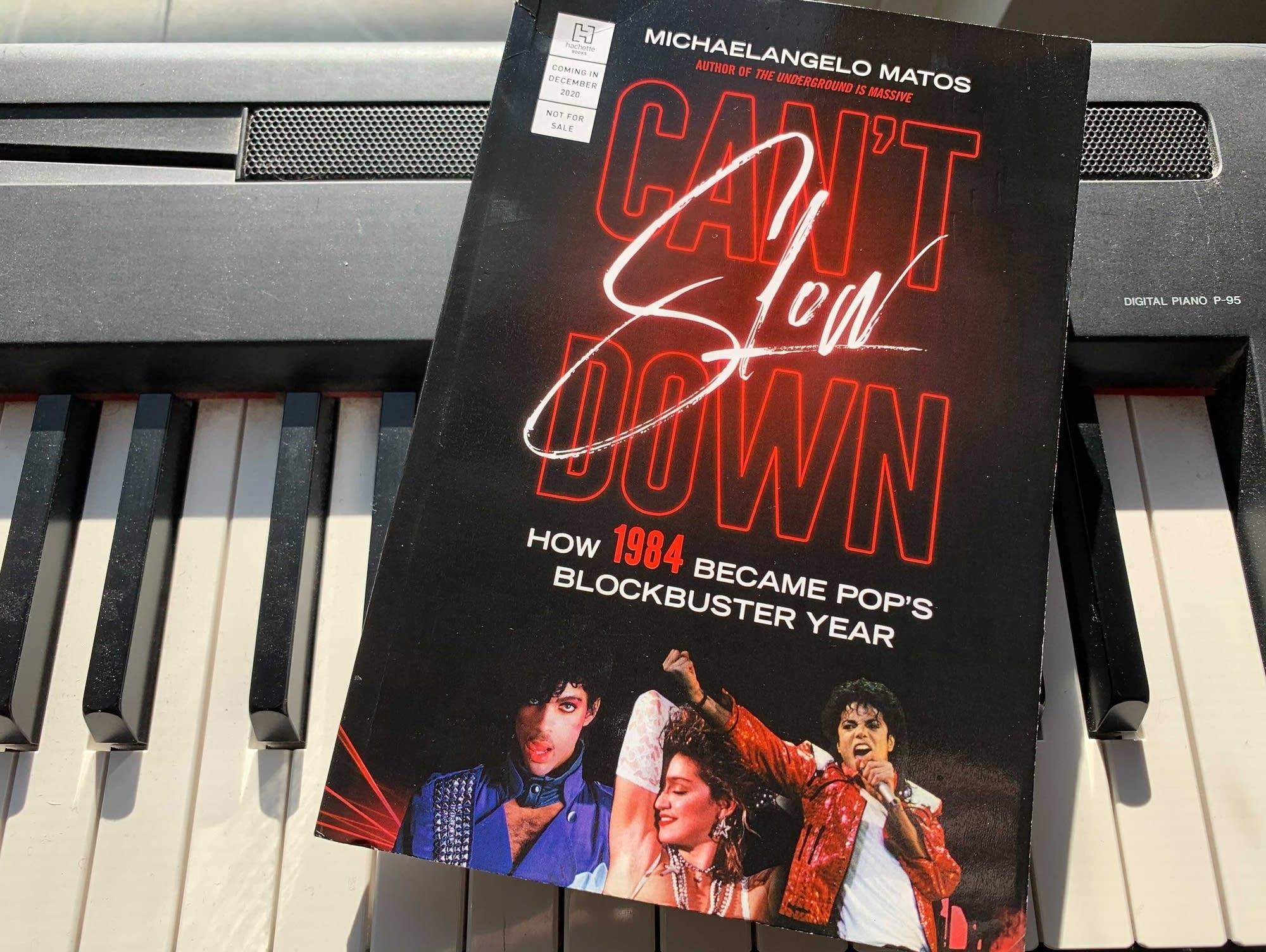 Michaelangelo Matos's 'Can't Slow Down.'