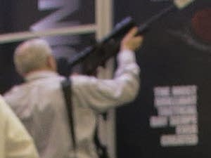 At the 2013 SHOT Show in Las Vegas