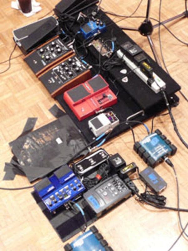 St. Vincents floor-pedal set-up