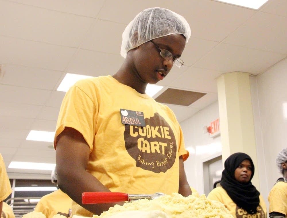 Abdul Ibrahim, a junior at Patrick Henry
