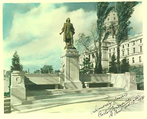 Petitioners want a Prince statue to replace Columbus at Minnesota State Capitol