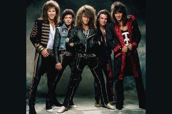 1980s Bon Jovi Promotional Photo
