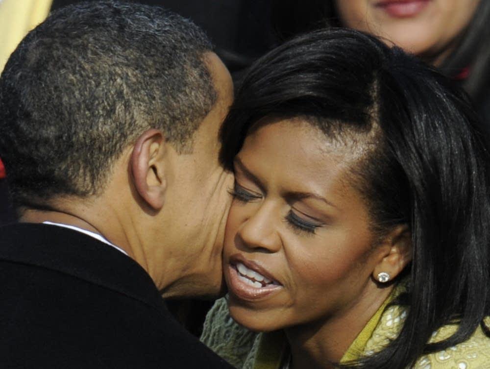 Obama embrace