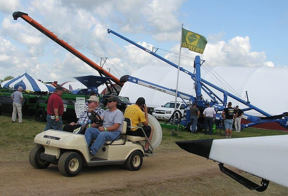 Farmfest visitors