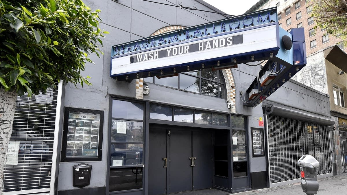 Shuttered Teragram Ballroom In Los Angeles Due To Coronavirus Measures