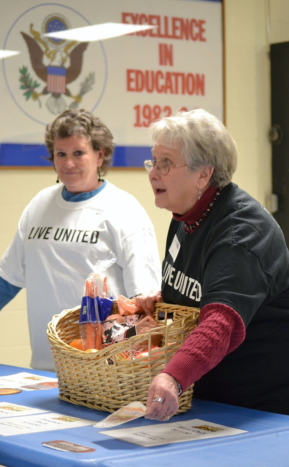 Pat Walters (left) and Bonnie Warren