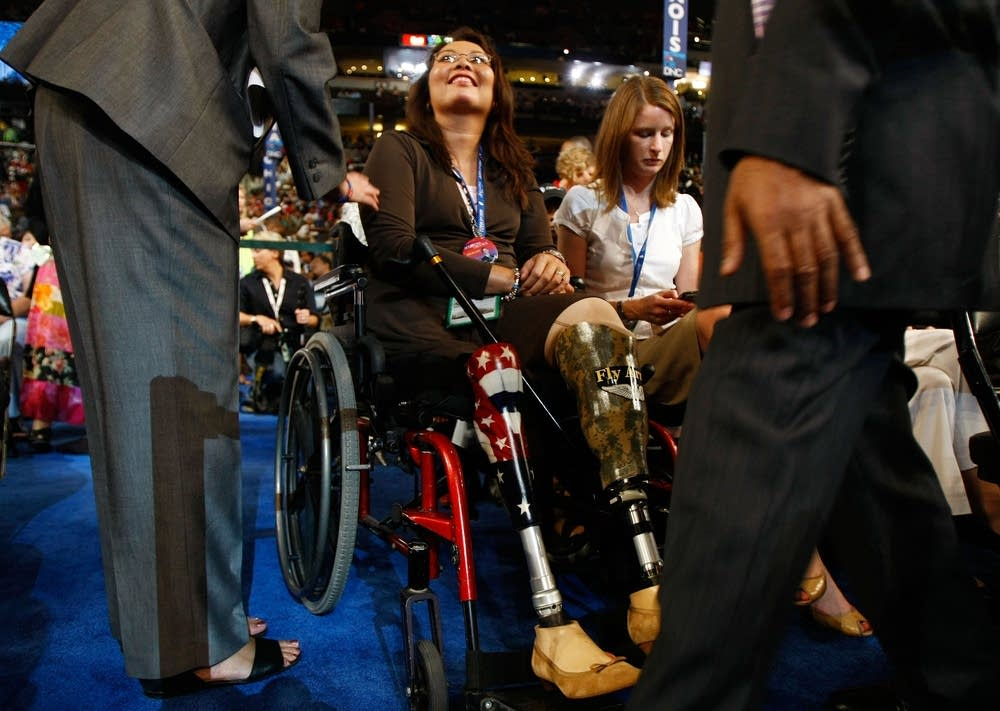 Iraq War veteran Tammy Duckworth