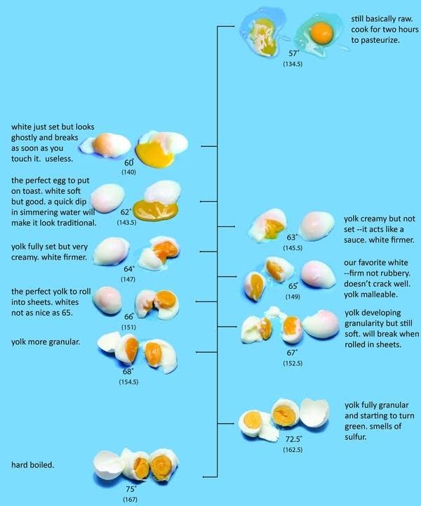 Dave Arnold's egg chart