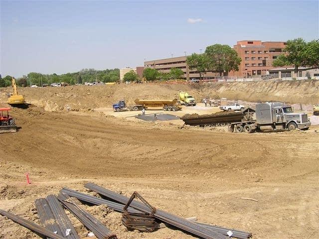 Future hospital site
