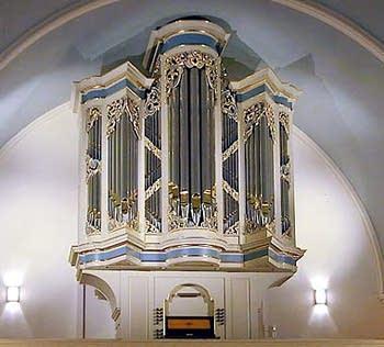 2001 Richards-Fowkes organ at Christ Church, New Brunswick, NJ
