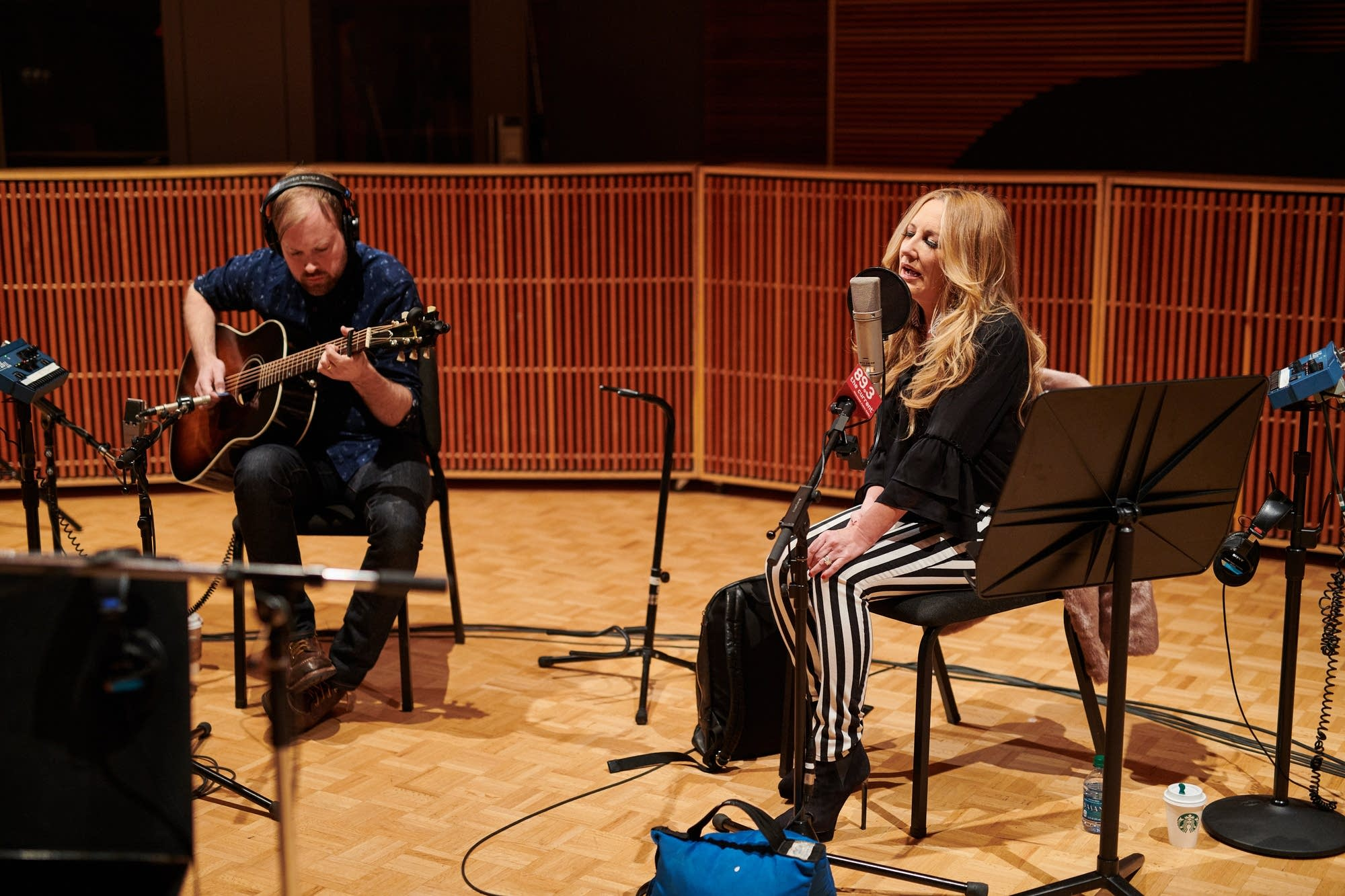 Lee Ann Womack performs in The Current studio