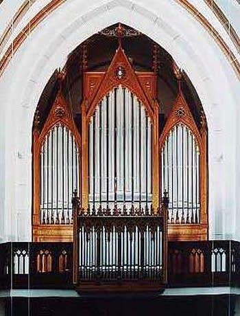 1981 Oberlinger organ at Saint Joseph's Church, Bonn, Germany