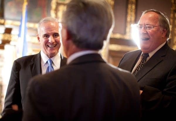 Gov. Dayton's reception for lawmakers