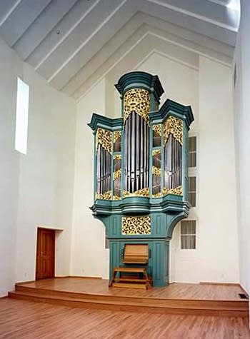1996 Pasi organ at Private residence of Lola Wolf & Rubin Maidan, Kirkland, Washington