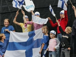 Finland fans