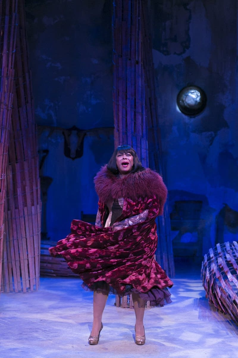 Greta Oglesby as the Witch in 'Into the Woods'