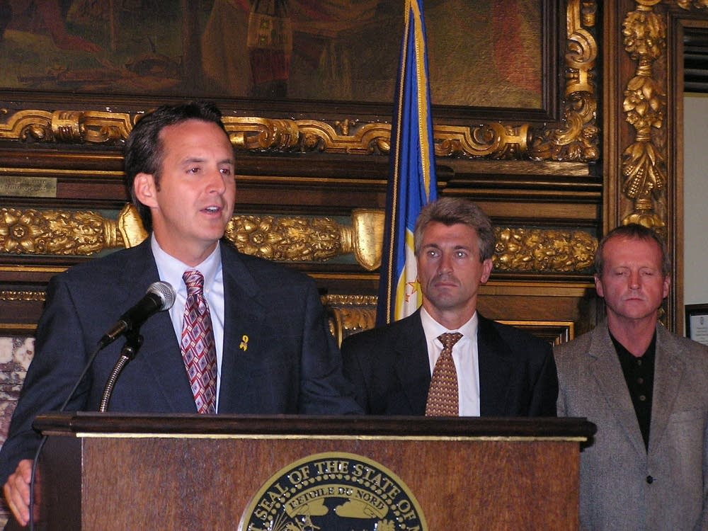 Gov. Pawlenty and Minneapolis officials