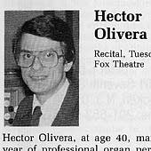 Hector's photo from the 1986 Detroit AGO Convention Program Book