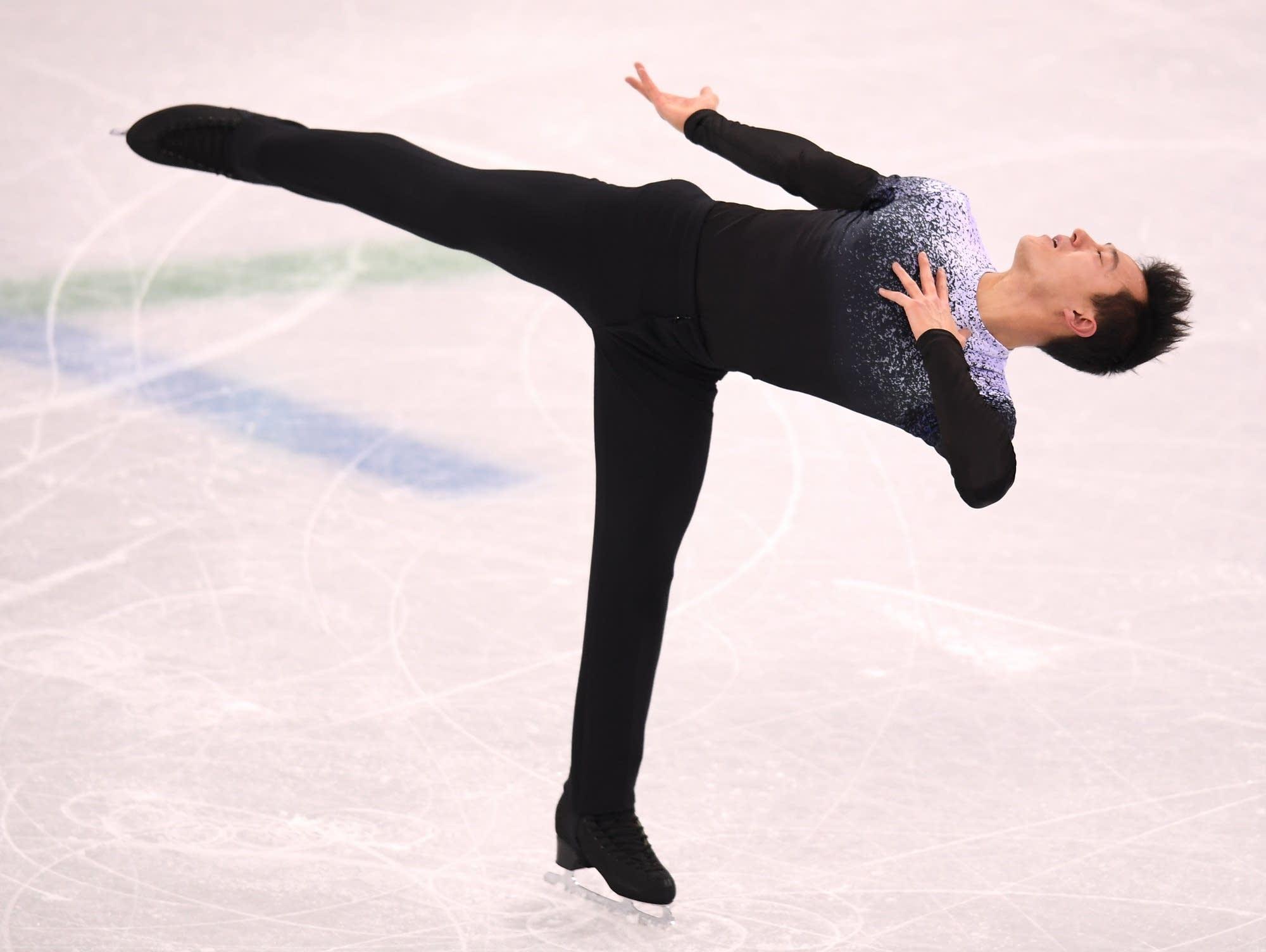 Canadian figure skater Patrick Chan.