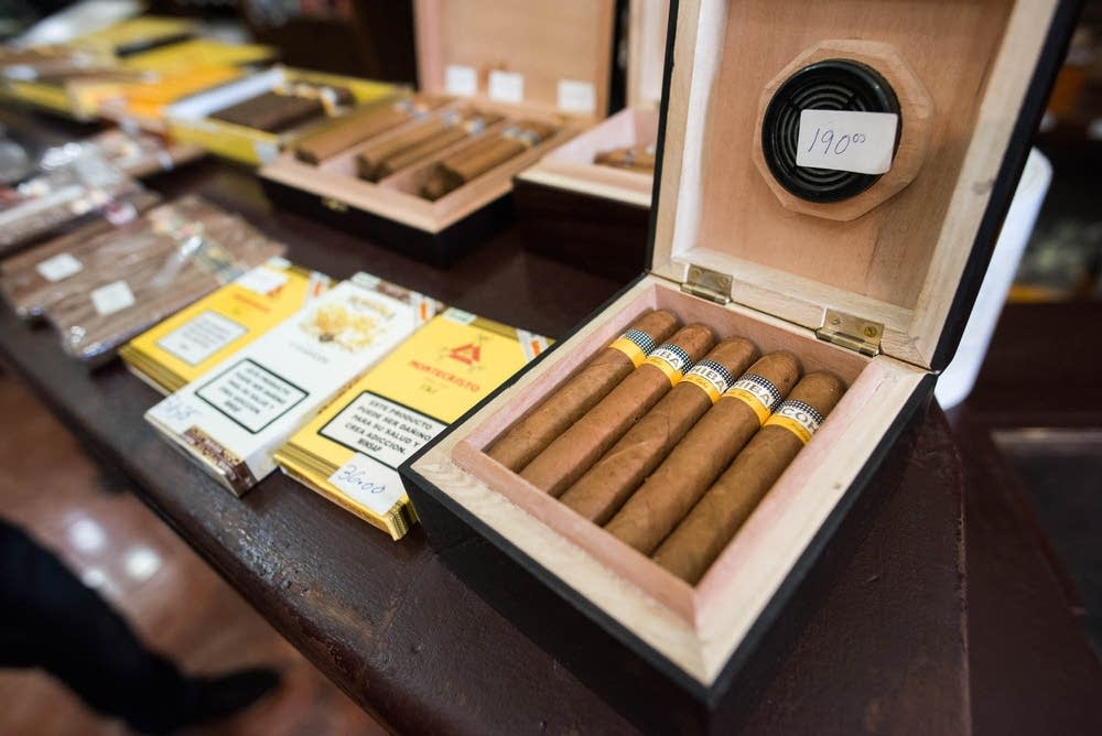 Cigars and cigarillos for sale