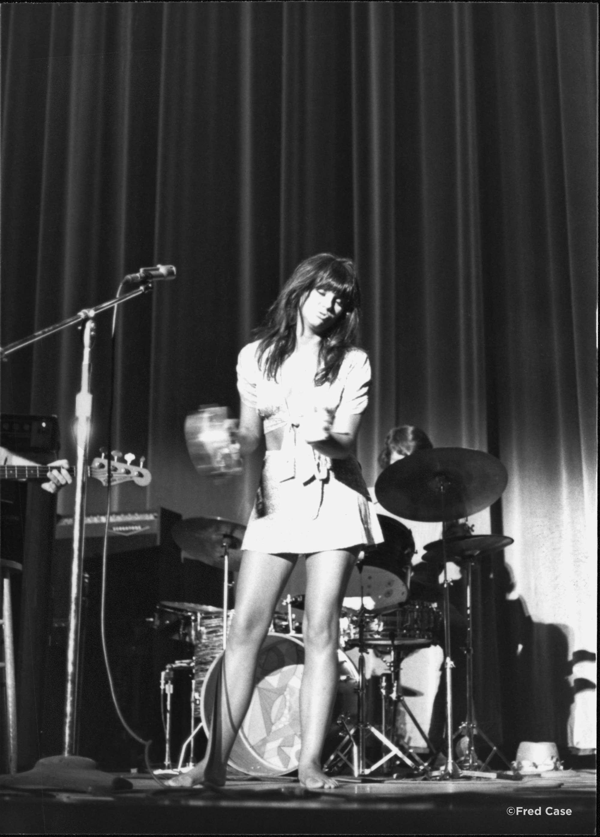 Linda Ronstadt at the Minneapolis Auditorium in 1970.