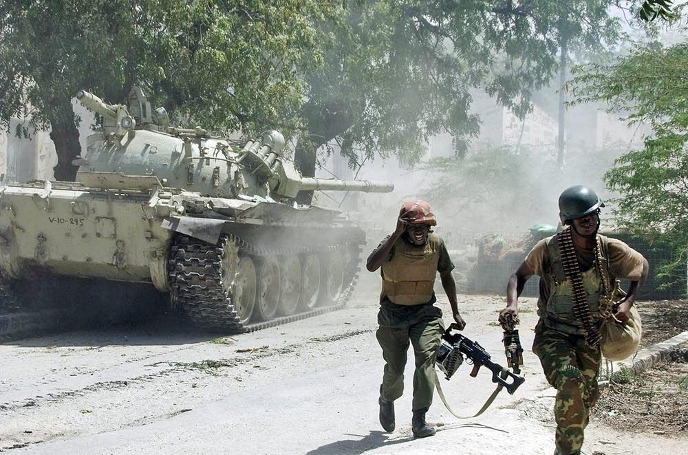 Peacekeepers in Somalia