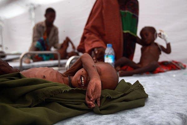 Somali children