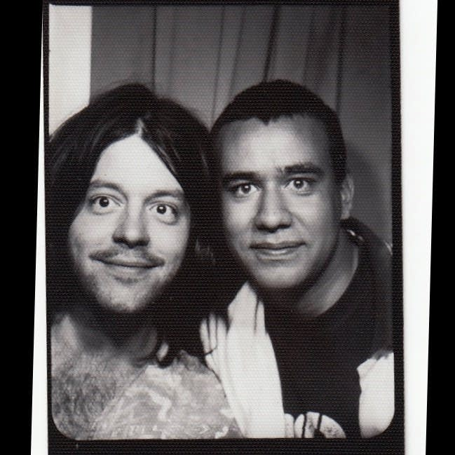 Fred Armisen and Grant Hart of Husker Du